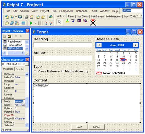 xstandard developer s guide toolbar customization buttons xstandard developer s guide app integration delphi 7