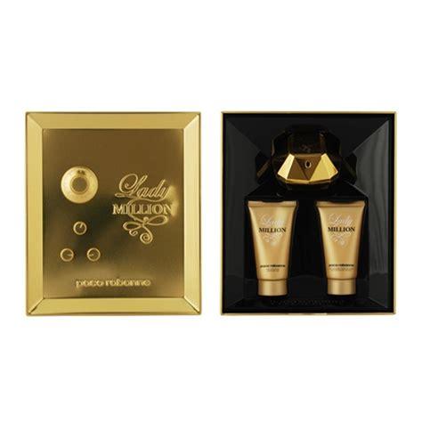 Ladi Set million by paco rabanne 3 pc gift set for om