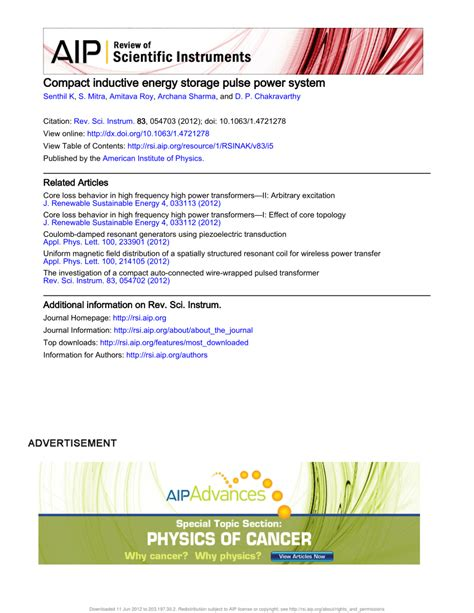 energy storage system inductor compact inductive energy storage pulse power system pdf available