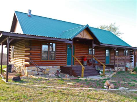 Log Cabin Rentals In Oklahoma by Beautiful Log Home To Turner Falls Vrbo