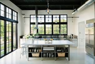 Industrial Kitchen Design Stainless Steel Kitchens Ideas Inspiration Pictures