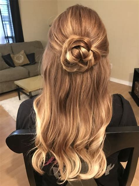 wedding hair half up half curls half up half wedding hairstyles best cuts ideas