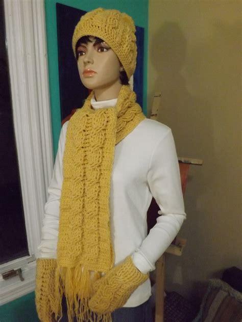 bufandas de trenza como hacer una bufanda de trenzas a crochet my crafts and
