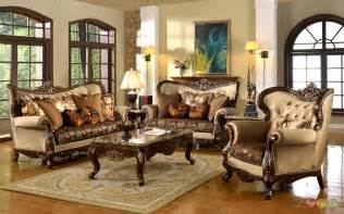 Livingroom Funiture by Antique Style Traditional Formal Living Room Furniture Set