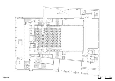concert hall floor plan stormen drdh architects archdaily