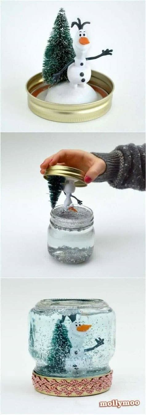 a beautiful snow globe that you can make for your love ones