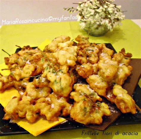 ricette con fiori di acacia frittelle con fiori di acacia