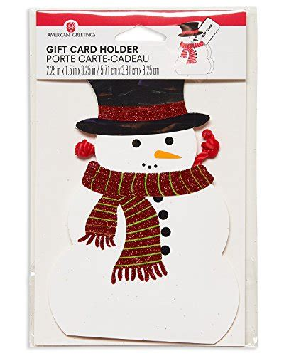 American Greetings Gift Cards - american greetings christmas gift card holder snowman artificial christmas tree shop