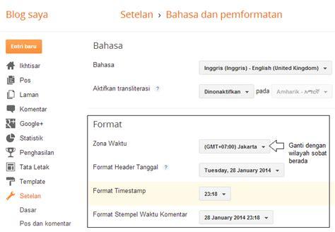 format waktu cara setting format waktu dan tanggal di blogspot robi