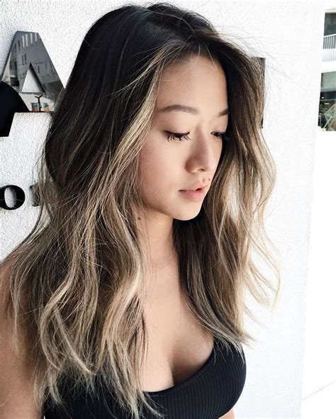 hair colors for asian women best 25 asian balayage ideas on pinterest balayage