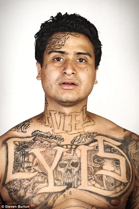 free tattoo removal for ex gang members photographer steven burton series removes tattoos from