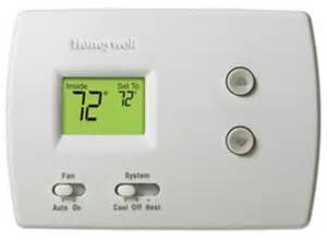 honeywell th3110d1008 pro non programmable thermostat with easy to use slide switches