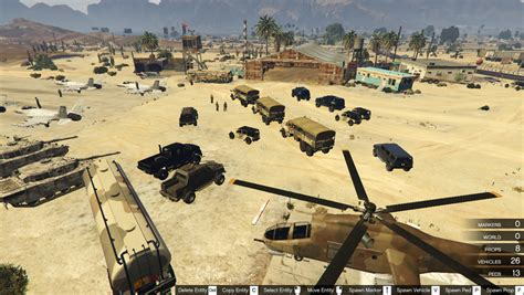 military land the army in gta 5 where is the army base