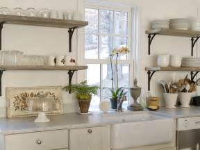 shelves in kitchen ideas refresheddesigns trend to try open shelving in the kitchen