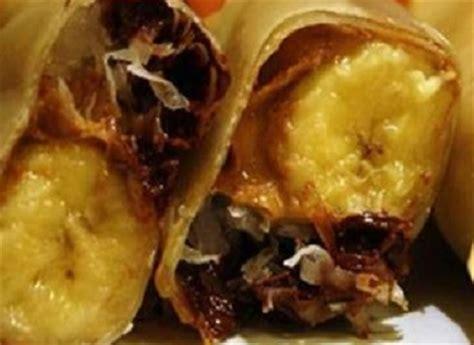 resep   menyajikan pisang aroma coklat keju