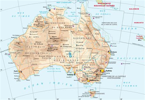 geographical map australia australia geography map