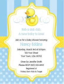 duck baby shower invitation pin by richter on baby showers