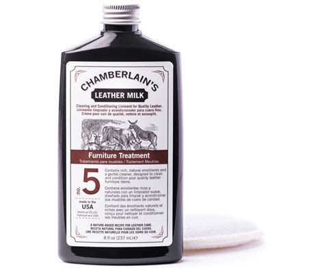 Leather Conditioner For Furniture by Furniture Treatment No 5 Leather Furniture Conditioner Chamberlains Leather Milkchamberlains