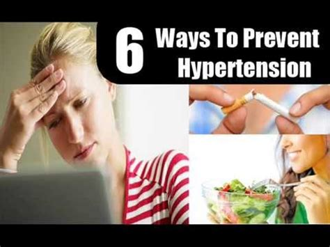 Six Great Ways To Prevent 6 Ways To Prevent Hypertension