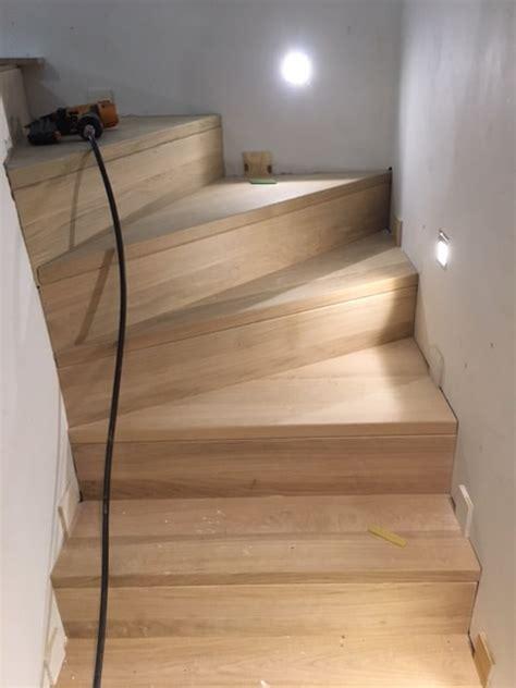 trap met hout bekleden betontrap bekleden met hout schrijnwerkij gebroeders liebens