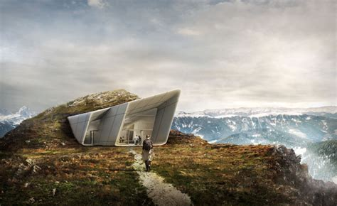 gallery of messner mountain museum corones zaha hadid zaha hadid to design the final messner mountain museum