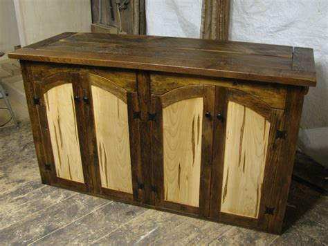 maple wood tv cabinet hand made rustic tv lift cabinet with spaulted maple doors