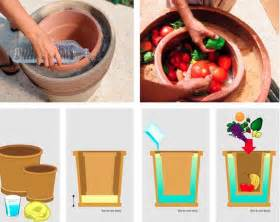 Home Design Blog Diy diy pot in pot refrigerator home design garden