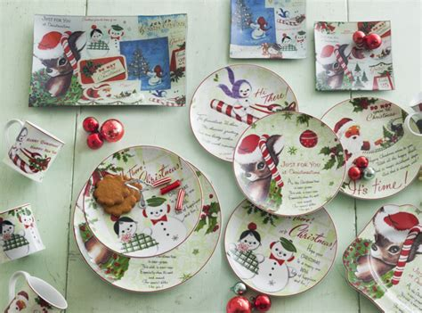 christmas design christmas crockery