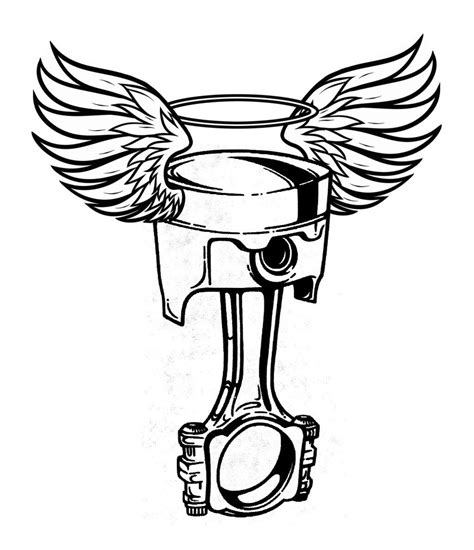 crossed piston tattoo crossed wrench and piston displaying 19 gt images