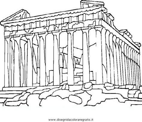 Big Ben Athena disegno atene partenone categoria nazioni da colorare