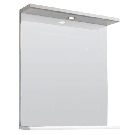 bathroom mirror with light and shelf high gloss white illuminated bathroom mirror bath vanity