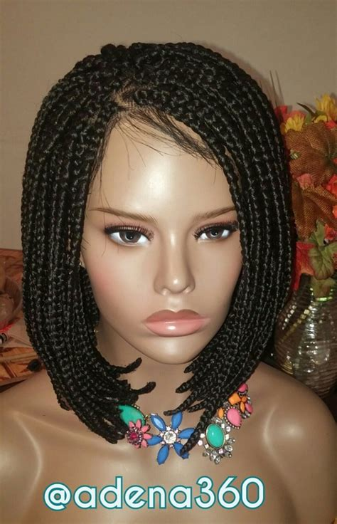 wigs made for black people that are braided braided bob lacefront wig medium 183 adena360 183 online