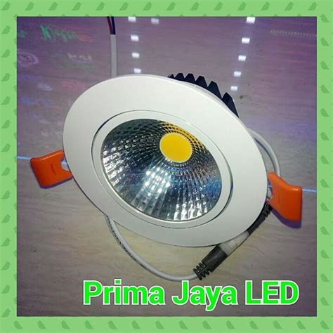 Jual Lu Led Glodok lu downlight ceiling led 7 watt prima jaya led