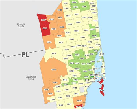 miami zip code map gis data science custom mapping reporting geo sling