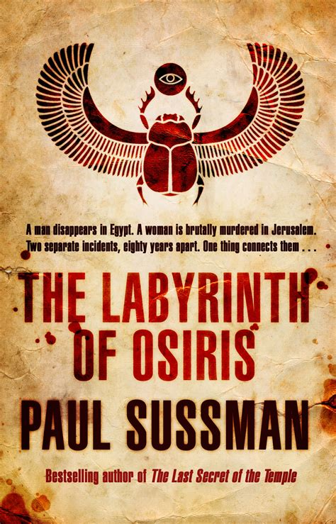 the labyrinth of osiris by paul sussman penguin books