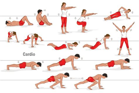 4 simple exercises for flat belly