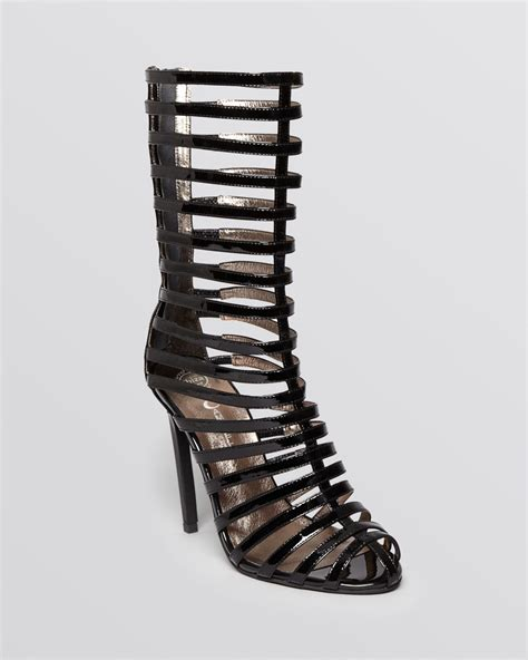 high heeled gladiator sandals jeffrey cbell sandals gladiator high heel in black