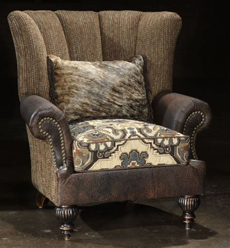 Western Cowboy And Snooty Cowgirl Furniture Houzz Living Room Chairs