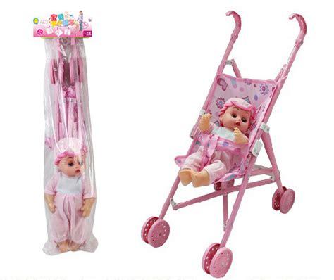 Mainan Boneka Stroller Pink buy grosir mainan kereta dorong boneka from china