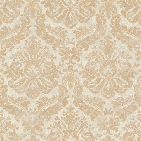 wallpaper gold cream gold and cream feathery damask wallpaper