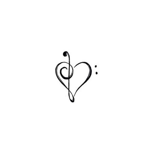 music note heart tattoo designs 25 best ideas about designs on