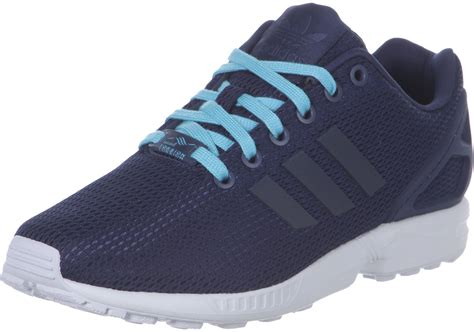 adidas flux shoes adidas zx flux w shoes blue