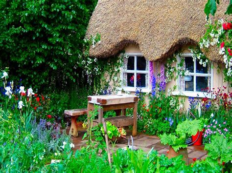 englisch garten wallpaper desk garden wallpaper