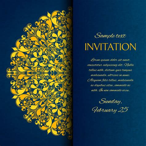 exhibition invitation card template dinner invitation vectors photos and psd files free