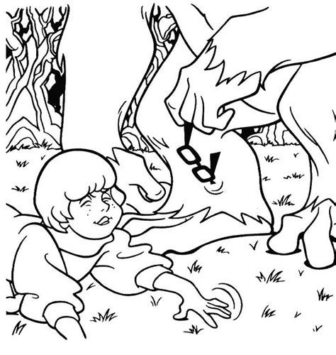 scooby doo coloring pages monsters printable scooby doo coloring pages coloring part 6
