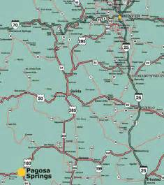 map pagosa springs colorado maps of pagosa springs southwest colorado four corners