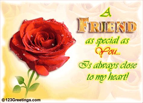 close to my heart! free special friends ecards, greeting