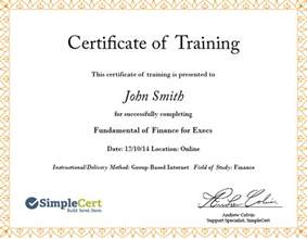 Continuing Education Certificate Template Simplecert Build Send Store Create Custom Certificates