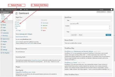 wordpress tutorial new post wordpress tutorial how to create a post in wordpress