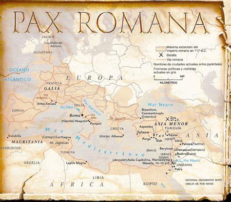pax romana guerra paz imperio romano romaimperial com